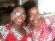 Two African Women in Europe, Josephine Karianjahi and AWE Co-Founder Wambui Njau