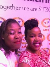 Two African Women in Europe, Josephine Karianjahi and AWE Co-Founder Joy Zenz