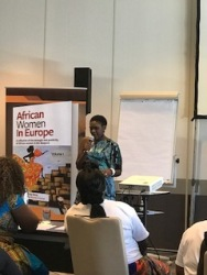 Laura Tinzoh, Motivational Speaker and Panelist African Women in Europe