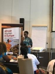 Laura Tinzoh, Motivational Speaker and Panelist African Women in Europe